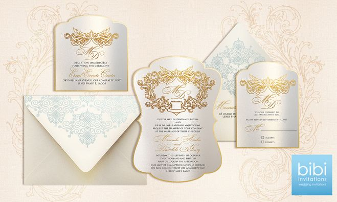 Bibi Invitations Celebrating Culture Style Stand to Win a Free – Wedding Invitation Cards in Nigeria