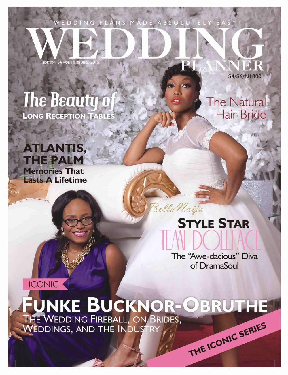 The Latest Issue Of Wedding Planner Magazine Is Out And Cover Star Non Other Than Music Temi Dollface As She Joined By Funke