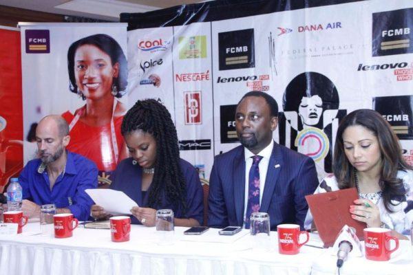 Richard Tanksley, Head of Pulse Nigeria; Yoanna Pepper Chikezie, Spice TV Channel Manager; Remi Sanusi, Head FCMB Youth Segment; Lola Omotayo-Okoye, Juror/Mentor Dare2Dream