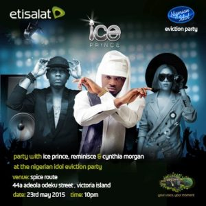 Etisalat Nigerian Idol Season V Eviction Party II - BellaNaija - May 2015001