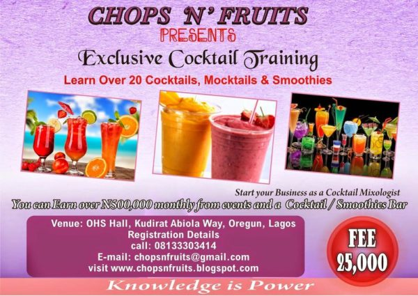 Exclusive Cocktail training _ BN Bargains