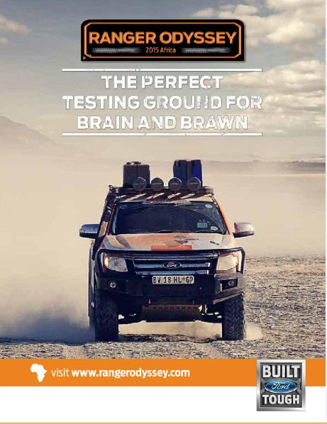 Ford Ranger Odyssey Challenge - BellaNaija - May2015002