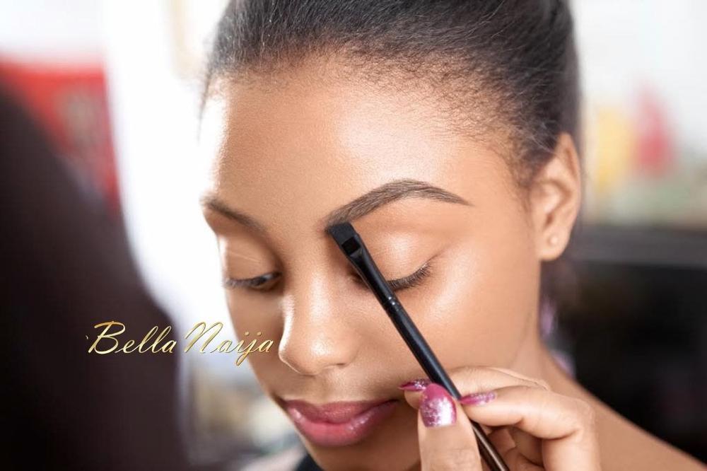 How to Get Natural Eyebrows with Joy Adenuga - BellaNaija - May 2015001