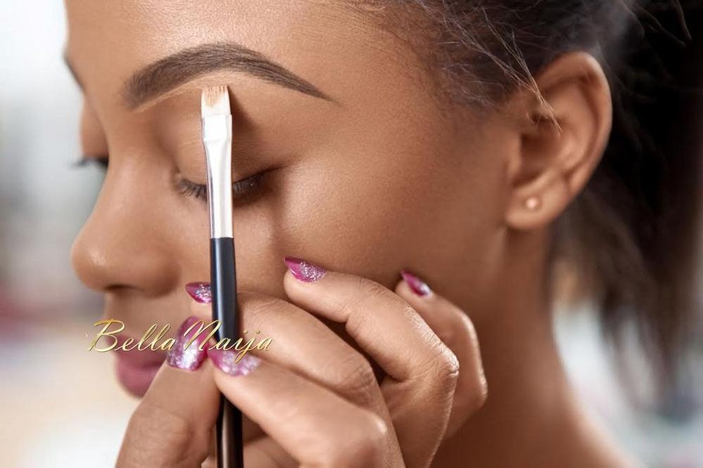 How to Get Natural Eyebrows with Joy Adenuga - BellaNaija - May 2015002