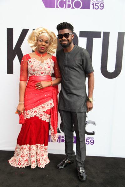 Wangi Mba-Uzoukwu & Basketmouth