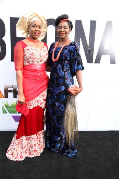 Wangi Mba-Uzoukwu & Genevieve Nnaji
