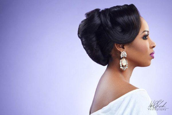Imelda of Beauty Boudoir - Black Bride Makeup - BellaNaija Weddings 12