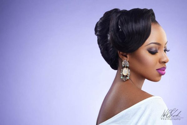 Imelda of Beauty Boudoir - Black Bride Makeup - BellaNaija Weddings 13