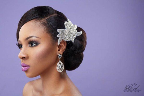 Imelda of Beauty Boudoir - Black Bride Makeup - BellaNaija Weddings 9