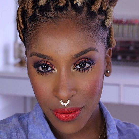 Jackie Aina Makeup Tutorial - BellaNaija - May 2015001