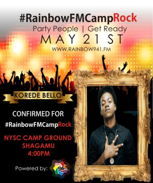 KOREDE BELLO CAMP ROCK