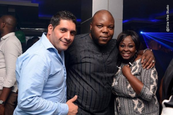 LOLO1, Bizzle Osikoya (A&R Manager for Mavins Records) and CLUB 57 Manager