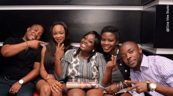 LOLO1, Demola (PA), Katherine (Naija Info) and Ogolor of Wazbia TV