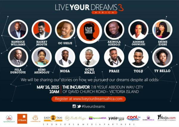 Live Your Dreams Africa 2015 - BellaNaija - May2015001