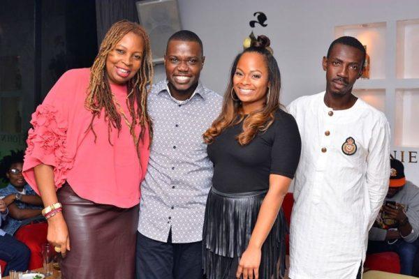 Tosin Martins, Ngozi Omambala , Daria Diaz (Vellvett Lounge) & Slim (LoudNProud)