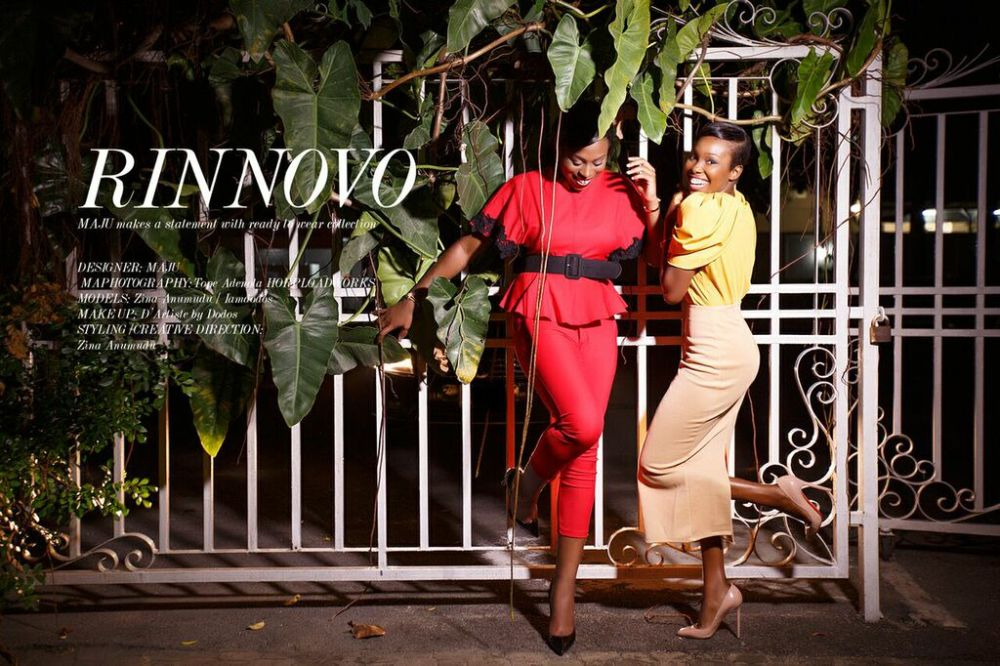 MAJU Bloggers Edit with Zina Anumudu and Dodos Uvieghara - Bellanaija - May2015001