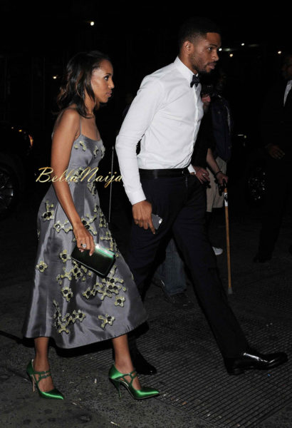 Kerry Washington & Nnamdi Asomugha