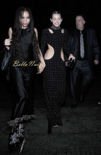 Zoe Kravitz & Miley Cyrus