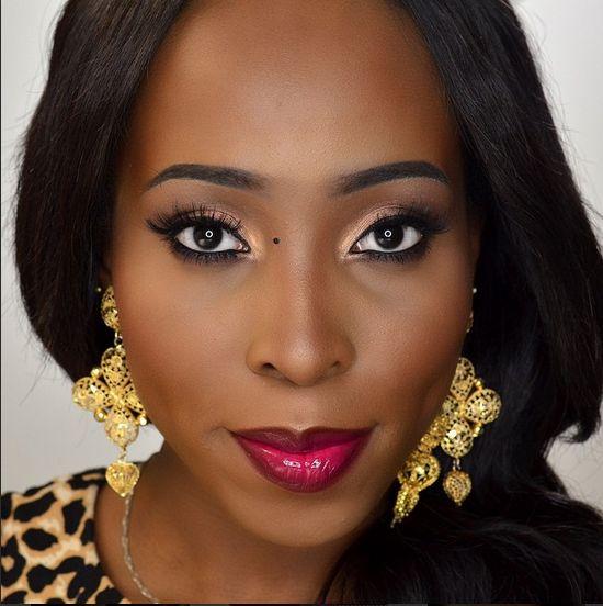 MiszPozhMUA Makeup Tutorial - BellaNaija - May 2015