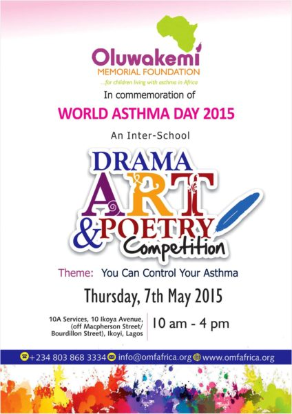 Oluwakemi Memorial Foundation - Art. Drama & Poetry Competition