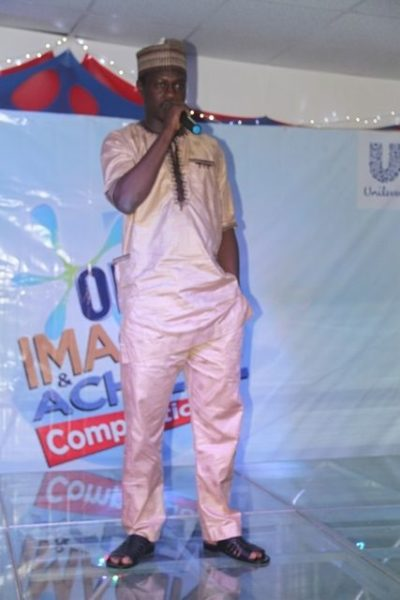 Omo Brand Ambassador, Ali Nuhu at the Omo Imagine and Achieve grand finale in Lagos