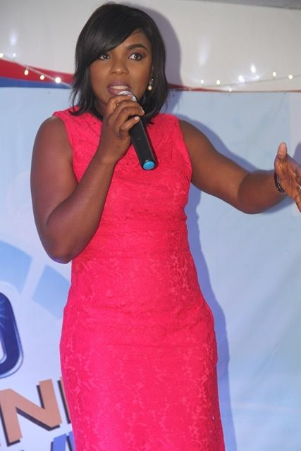 Omo Brand Ambassador, Chioma Akpotha at the Omo Imagine and Achieve grand finale in Lagos