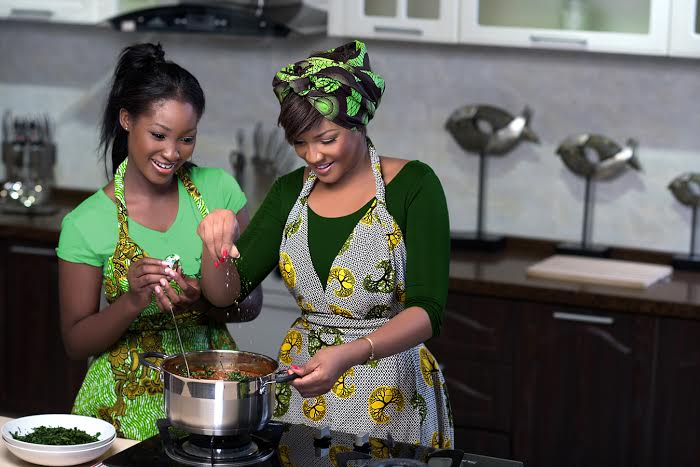 Omotola & Meraiah Jalade-Ekeinde for Knorr - BellaNaija - May 2015001