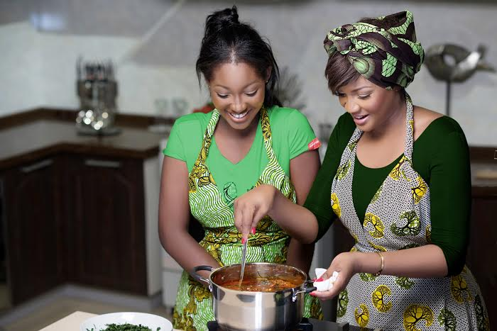 Omotola & Meraiah Jalade-Ekeinde for Knorr - BellaNaija - May 2015002