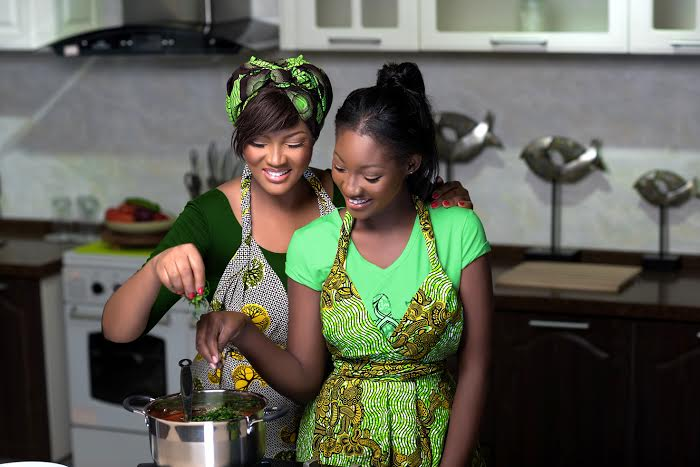 Omotola & Meraiah Jalade-Ekeinde for Knorr - BellaNaija - May 2015003