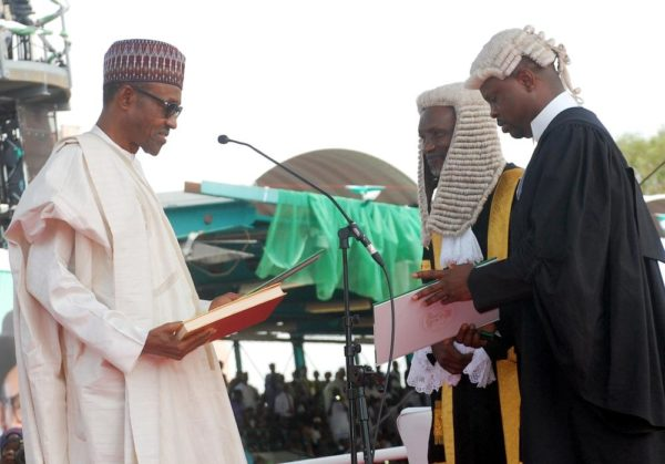 PIC.1. SWEARING-IN OF THE NEW PRESIDENT IN  ABUJA