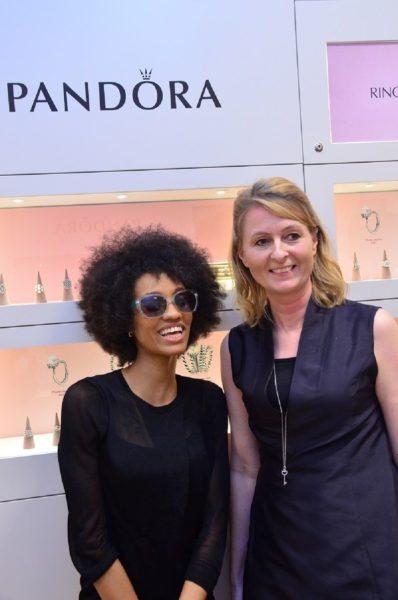 Dija & Charlotte Obidairo (Managing Director, Pandora West Africa)