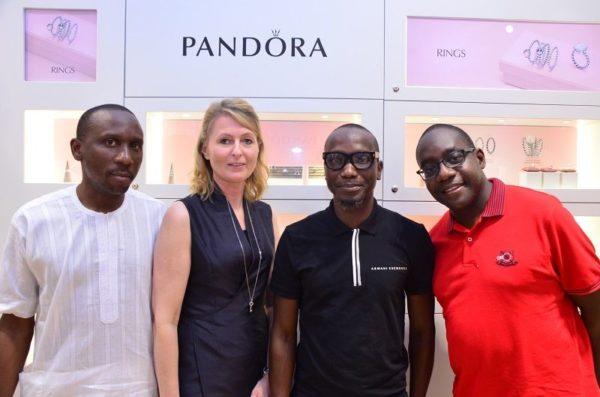 Simeon Obidairo, Charlotte Obidairo (Managing Director, Pandora West Africa)