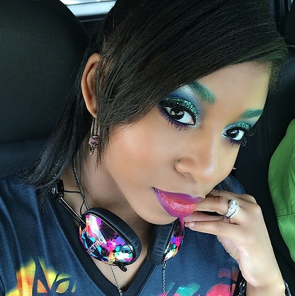 Rainbow Eyebrows - BellaNaija - May 2015