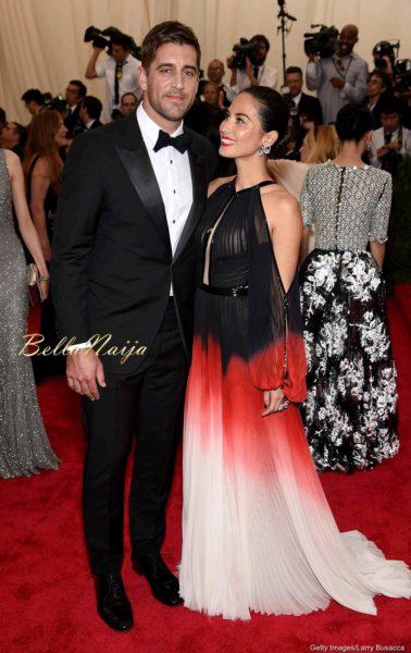 Aaron Rogers & Olivia Munn