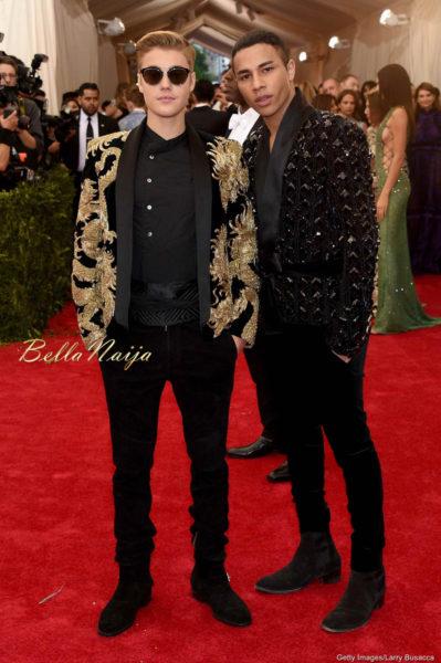 Justin Bieber & Olivier Rousteing