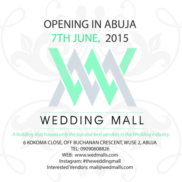 WEDDING MALL POSTER BELLANAIJA