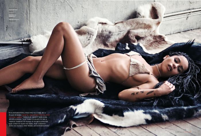Zoe Kravitz for GQ Magazine - BellaNaija - May 2015001