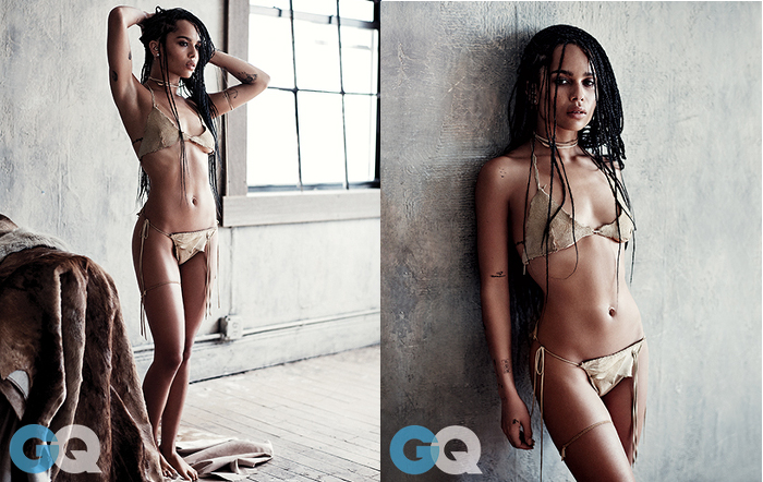 Zoe Kravitz for GQ Magazine - BellaNaija - May 2015002