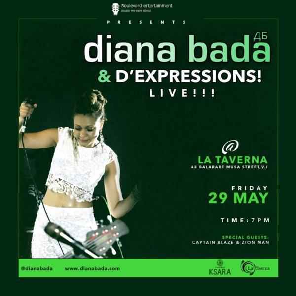 diana flyer for taverna may 2015
