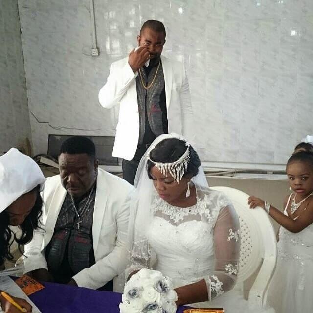 Nollywood Actor John 'Mr. Ibu' Okafor is Married - BellaNaija