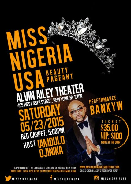 miss nigeria banky flyer