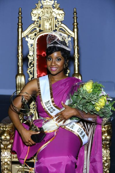 Frances Udukwu (Winner of Miss Nigeria USA 2015)