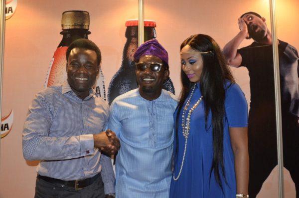 Wole Adedeji (Senior Brand Manager, Maltina), AY & Mabel Makun