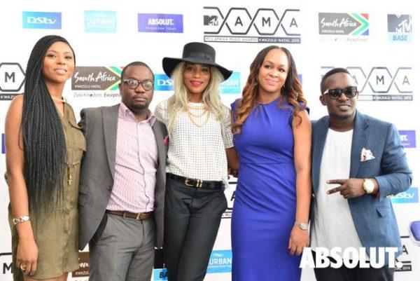 Stephanie Coker , Sola Oke, Seyi Shay, Colette Osibo & M.I Abaga