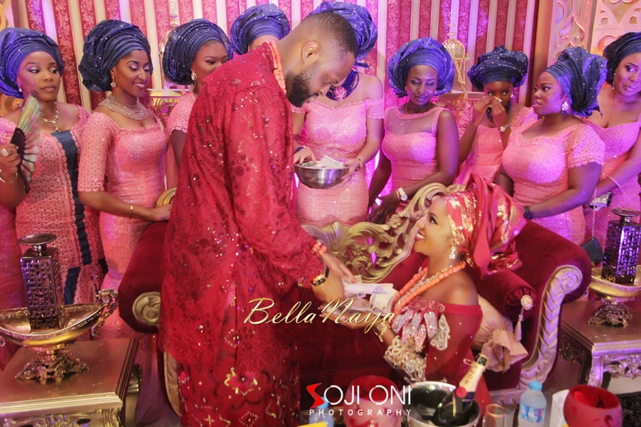 Aloaye & Tunde Yoruba Wedding in Lagos, Nigeria - BellaNaija 2015-011