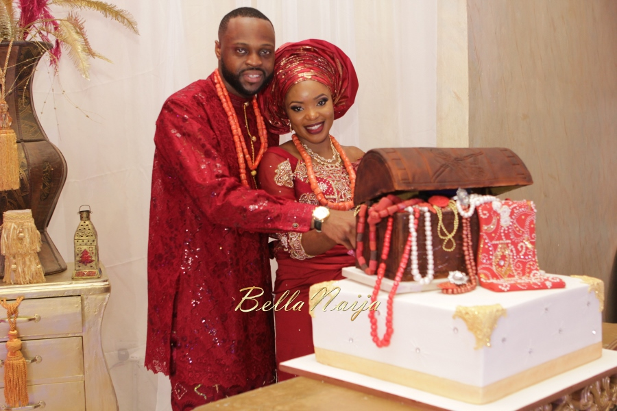 Aloaye & Tunde Yoruba Wedding in Lagos, Nigeria - BellaNaija 2015-015
