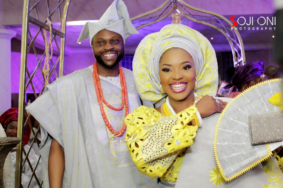 Aloaye & Tunde Yoruba Wedding in Lagos, Nigeria - BellaNaija 2015-016