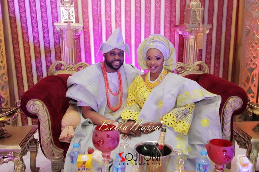 Aloaye & Tunde Yoruba Wedding in Lagos, Nigeria - BellaNaija 2015-020