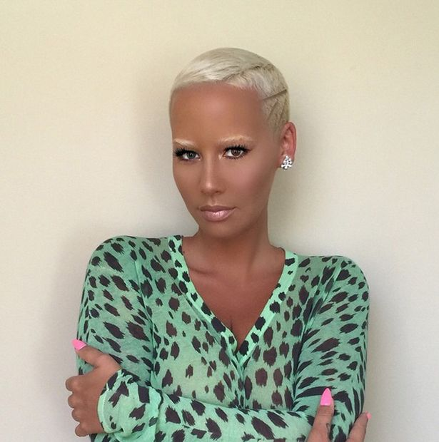Amber Rose Bleached Eyebrows - BellaNaija - June2015