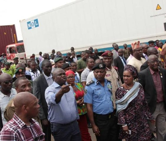 Ambode Re-Opens Mile 12 Market 2 Weeks After Ethnic Clashes